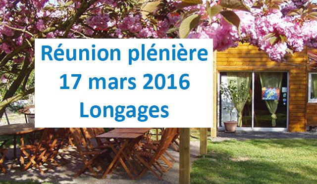 Réunion plènière de mars 2016 à Longages